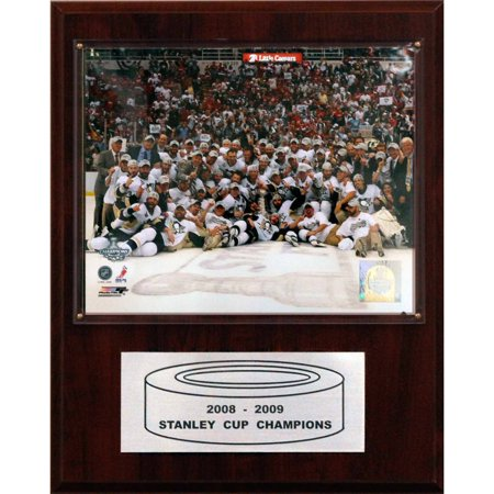 C Collectables Nhl 12X15 Pittsburgh Penguins 2009 Stanley Cup Celebration Plaque