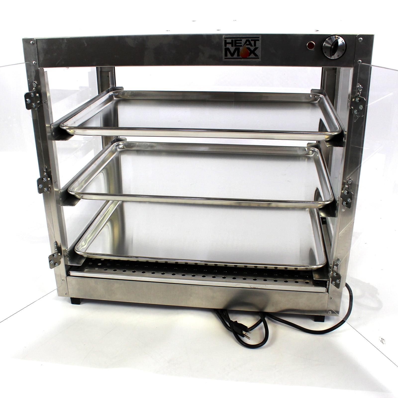 HeatMax Commercial 29x20x27 Food Warmer Display Case Temp ...