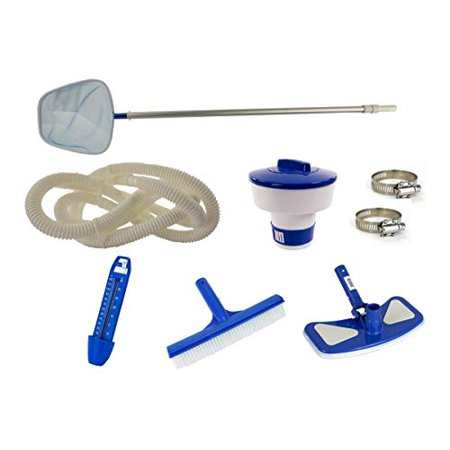 Swim N Play Deluxe Pool Cleaning Maintenance Kit for Above Ground Swimming Pool - Level Best Deluxe Pool