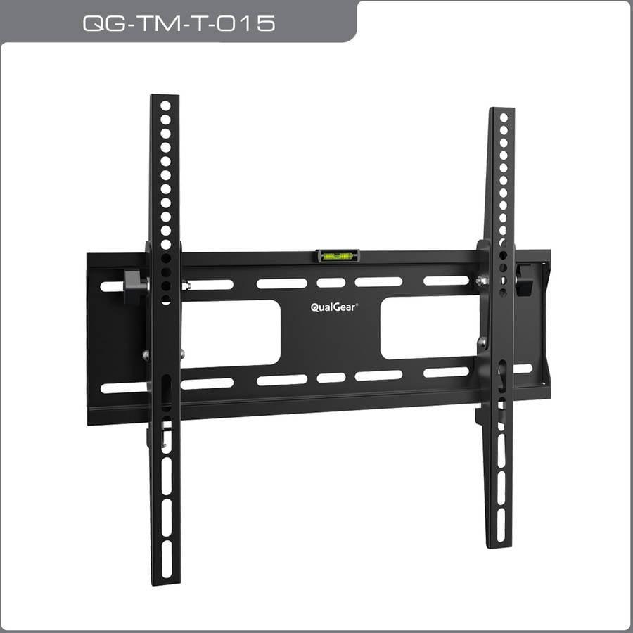 "QualGear QG-TM-T-015 Universal Low-Profile Tilting Wall Mount for 32""-55"" LED TVs"
