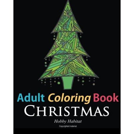 Adult Coloring Book  Christmas  Coloring Book For Adults Featuring 46 Beautiful  Holiday Images