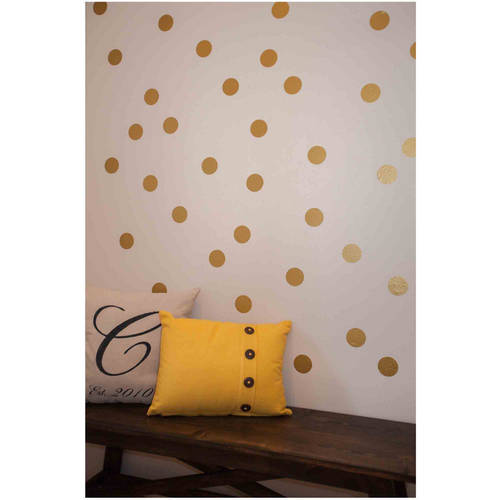 "Owl Hills Polka Dot Wall Stickers, 2.5"" by Owl Hills"