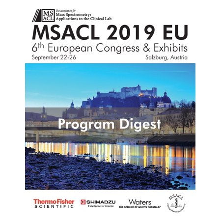 MSACL 2019 EU - Program Digest (Paperback) (Best Program Uninstaller 2019)