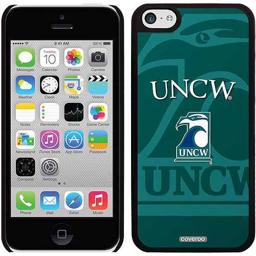 UNCW Watermark Design on iPhone 5c Thinshield Snap-On Case by Coveroo