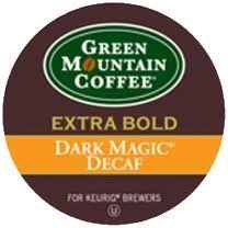 Green Mountain Dark Magic Decaf Extra Bold Coffee 4 Boxes of 24 (Extra Bold Coffee K-cups)