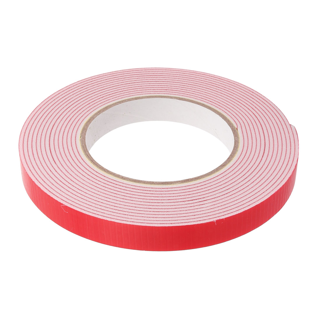 2Pcs 15mm Width 2mm Thickness Dual-sided Adhesive Shockproof Sponge Foam Tape 5M - image 2 de 3