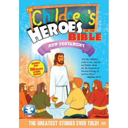 Children's Heroes of the Bible: New Testament (DVD) - Children's Halloween Movies 2017