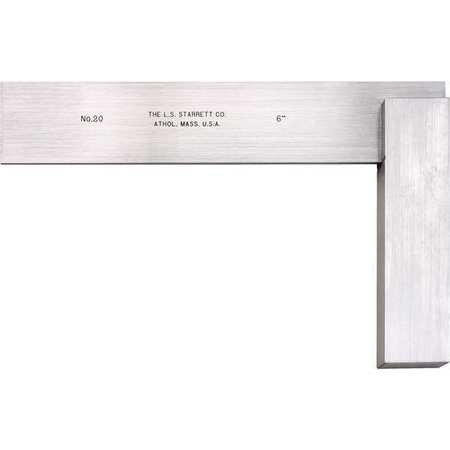 Starrett Precision Square, Stainless Steel, 3020-6