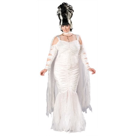 Adult Plus Size Monster Bride Costume Incharacter Costumes LLC 5043