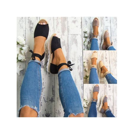 Meigar 2018 Summer Sandals Women Casual Shoes Women Shoes Size 8 Espadrille Sandals Special Today