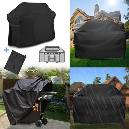 Barbecue BBQ Grill Cover+ Storage Bag for Weber 7109 Summit 600 Series Gas Grill