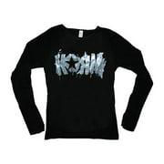 Korn  K-Splat Girls Jr  Long Sleeve Black