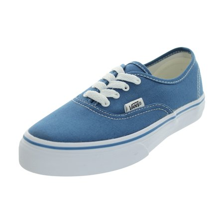 VANS AUTHENTIC SKATE SHOES (Navy Flower Girl Shoes)