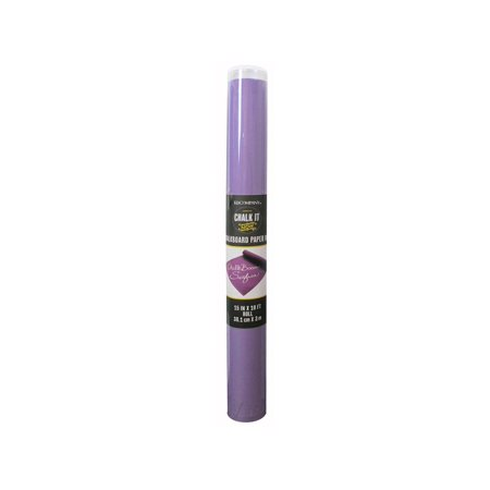 K&Co Chalk It Now Chalkboard Paper Roll - Chalkboard Paper Roll