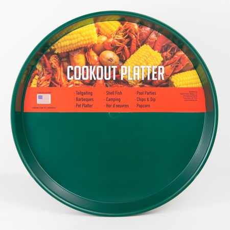 16' Large Square Platter - Cookout Platter 16