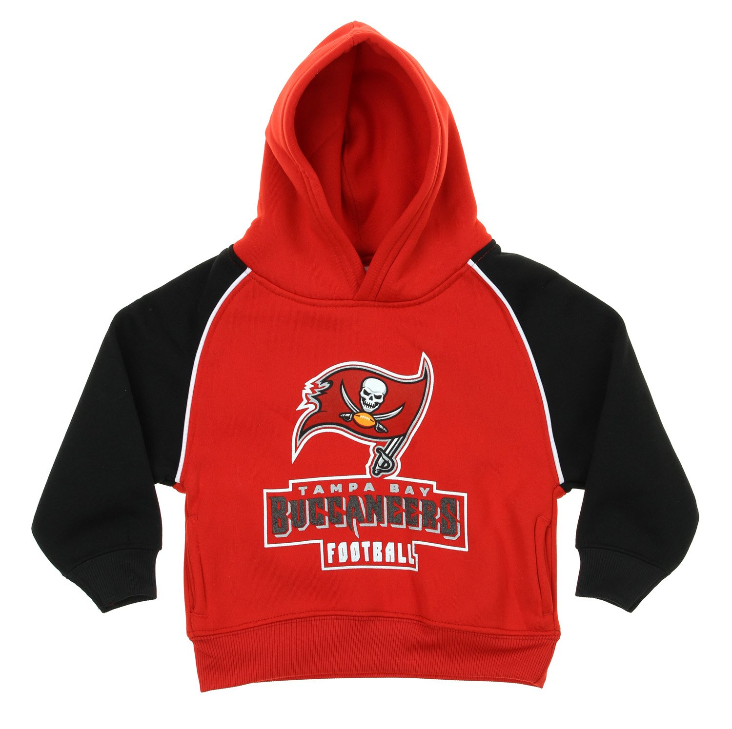 OuterStuff NFL Football Infants & Toddlers Tampa Bay Buccaneers Printed Sweatshirt, Red