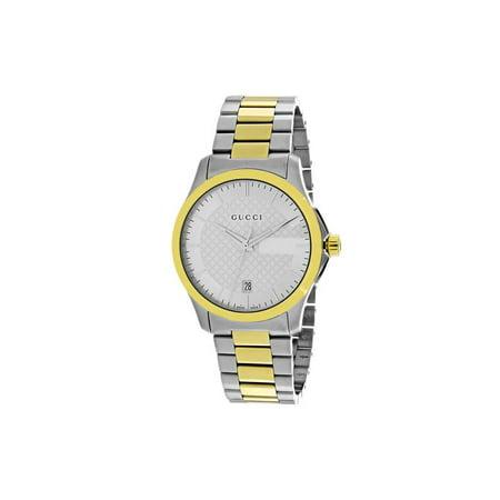 1e1d75b3efe Gucci - Gucci Men s G-Timeless Watch Quartz Sapphire Crystal YA126450 -  Walmart.com