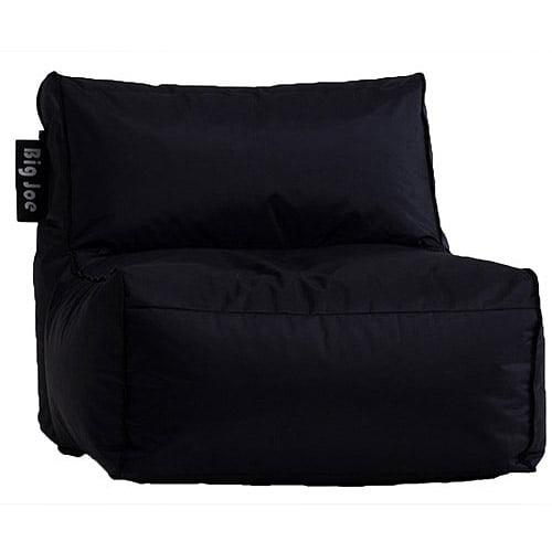 Big Joe Zip Armless Chair, Black by Generic