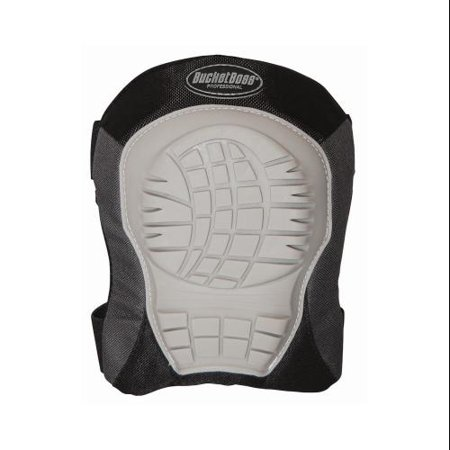 Bucket Boss 94200 Soft Shell Knee Pad Elastic straps with hook loop cl