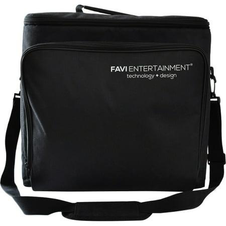 FAVI FE-LG-BAG-BL Carrying Case for Projector - Black - Canvas - Shoulder Strap
