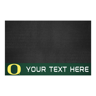 Personalized University of Oregon Grill Mat