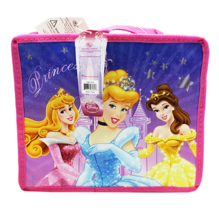 Disney Princess Fairy Tale Dreams Small Size Accordion Style Lunch Bag Disney Fairy Tale Princesses Rings