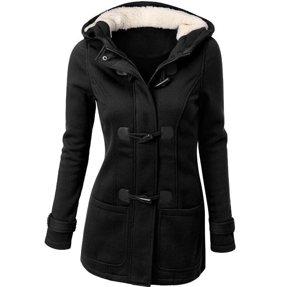 Fashion Women Windbreaker Outwear Warm Wool Slim Long Coat Jacket Trench by Womens Wool Coats