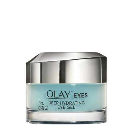- Olay Eyes Deep Hydrating Eye Gel with Hyaluronic Acid, 0.5 fl oz
