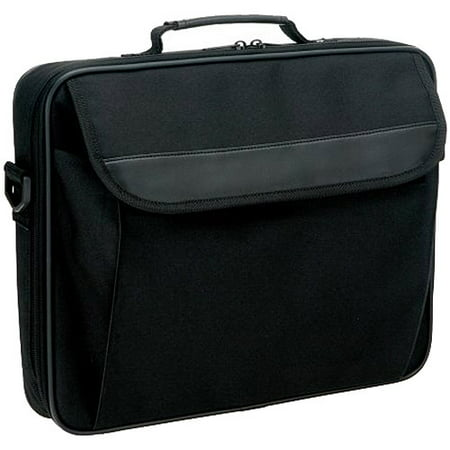 Icon Nylon Notebook Case - Fits up to 15.4in (Black): CB100-BLK Wheeled Notebook Case