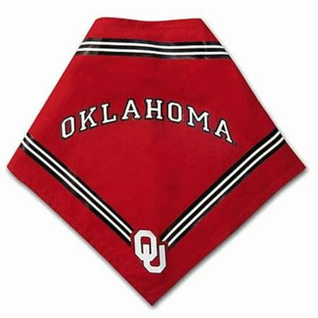 Oklahoma Sooners Dog Bandana - Small