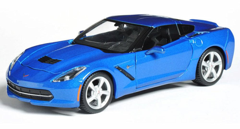 2014 Chevrolet Corvette Stingray Coupe, Blue Maisto 31505 1 24 scale diecast model car by Maisto