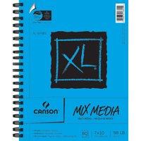 "Canson XL Mix Miedia Art Sketchbook, 7"" x 10"" Side Spiral Art Pad, 60 Sheet"