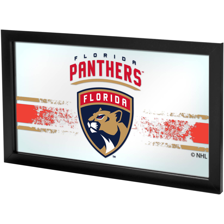 NHL Framed Logo Mirror, Florida Panthers