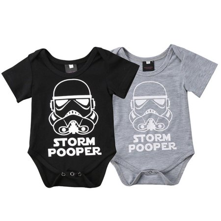 Newborn Star Wars Baby Boy Girl Bodysuit Romper Jumpsuit Clothes Outfit 0-18M](Star Wars Babys)