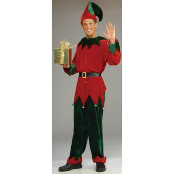 COSTUME-DLX SANTA'S HELPER STD