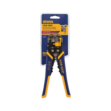 "IRWIN VISE-GRIP 2078300 8"", Self-Adjusting Wire Stripper"