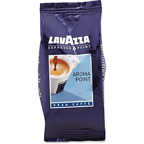 Lavazza Aroma Point Arabica/Robusta Espresso Point Cartridges, 100ct