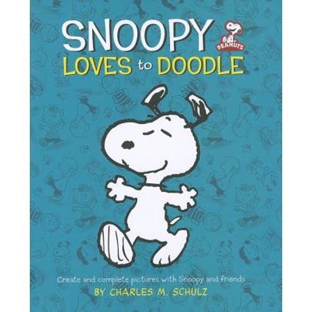 Peanuts: Snoopy Loves to Doodle : Create and Complete Pictures with the Peanuts Gang - Peanuts Gang Characters