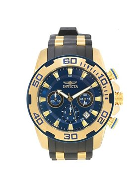 Invicta Men's 50mm Pro Diver GT Chronograph Swiss Quartz Polyurethane Watch-22341