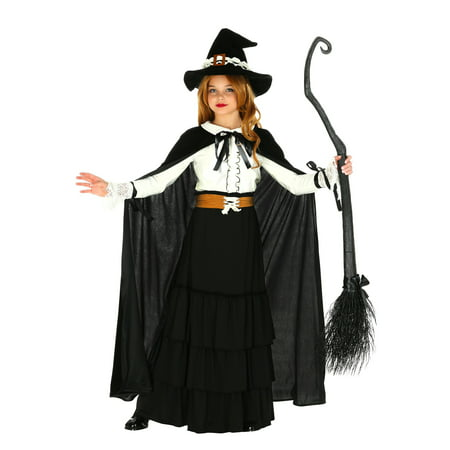 Girl's Salem Witch Costume - History Of Halloween Fun Facts
