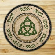 Earth Rugs 66-116IK Irish Knot Round Patch