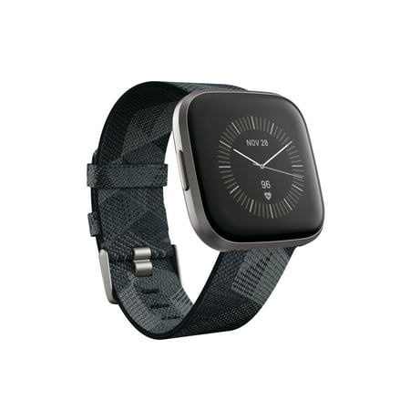 Fitbit Versa 2 Smartwatch Special Edition Give voice to your goals with the Fitbit Versa 2 Special Edition premium health & fitness smartwatch.* This Special Edition smartwatch includes a patterned jacquard woven band and extra an extra classic silicone band and a 3-month free trial of Fitbit premium, which turns your stats into personalized health and fitness guidance (terms and restrictions apply). *Third-party account and app may be required.