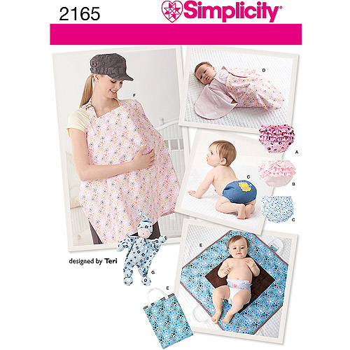 Simplicity Pattern Baby Accessories, All Sizes
