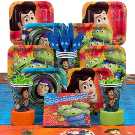 Toy Story Birthday Party Deluxe Tableware - Toy Story Birthday Ideas