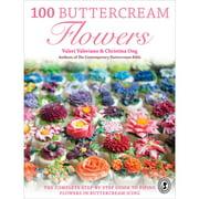 F&W Books 100 Buttercream Flowers