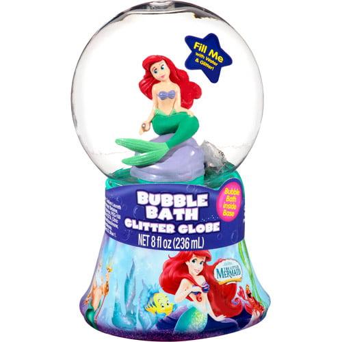 Walt Disney The Little Mermaid Bubble Bath Glitter Globe, 8 fl oz