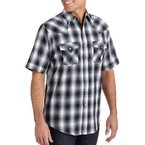 Plains Men's Short Sleeve Woven Shirt