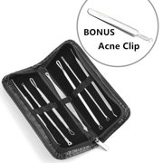 Best Comedone Extractors - Blackhead Extractor Tool Remover Pimple Blemish Comedone Kit Review