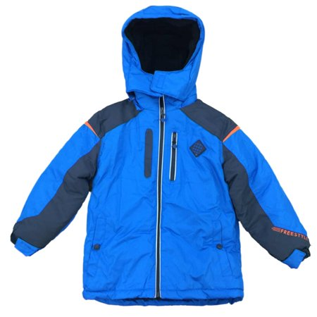 3. Boys' Marmot Guides Down Hooded Jacket – Buy It Here For $$ Made of toasty warm down, this jacket features Down Defender – A technology that keeps fibers water resistant. Angel-Wing movement gives them full range of motion.