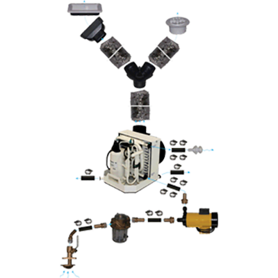 A/C Kit, FCF Plat. 10k BTU, 230V, PM500